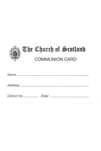 CA03 Communion Cards (pack of 100)